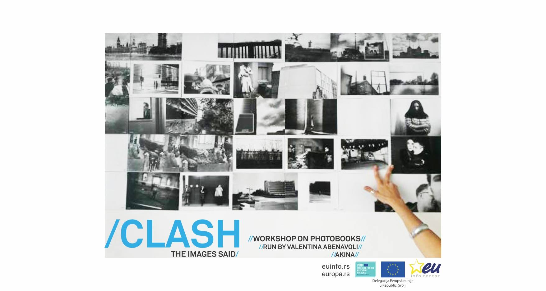 Workshop on Photobooks – CLASH, THE IMAGES SAID