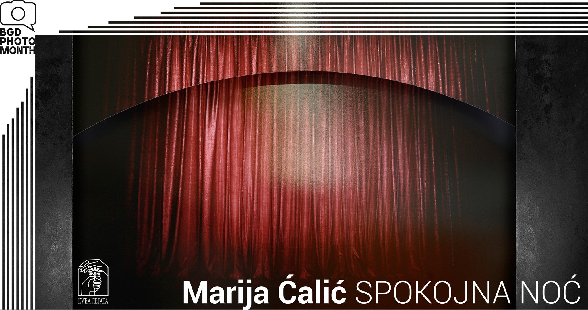 Izbor iz ciklusa Spokojna noć – Marija Ćalić